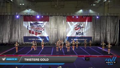 Twisters - Gold [2021 L5 Senior] 2021 NCA Atlanta Classic DI & DII