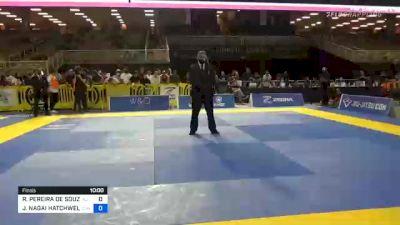 RONALDO PEREIRA DE SOUZA JÚNIOR vs JACKSON NAGAI HATCHWELL JUNIOR 2020 Pan Jiu-Jitsu IBJJF Championship