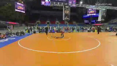 152 lbs Consi Of 8 #2 - Paniro Johnson, Pennsylvania vs Kolby DePron, Oklahoma