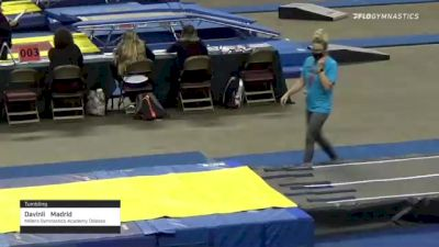 Davinli  Madrid  - Tumbling, Millers Gymnastics Academy Odessa  - 2021 Region 3 T&T Championships