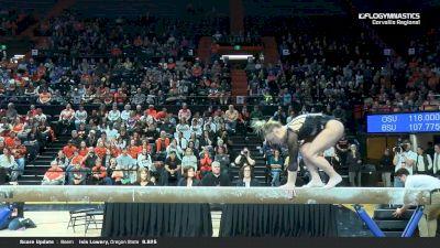 Lacy Dagen - Beam, Oregon State - 2019 NCAA Gymnastics Regional Championships - Oregon State