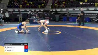 61 kg Prelims - Josh Kramer, Sunkist Kids Wrestling Club vs Cian Apple, Colorado Mesa Wrestling Club