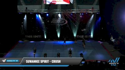 Suwannee Spirit - Crush [2021 L4.2 Senior - D2 - Small Day 2] 2021 The U.S. Finals: Pensacola