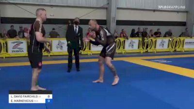 L. DAVID FAIRCHILD vs EGIDIJUS MARKEVICIUS 2021 Pan IBJJF Jiu-Jitsu No-Gi Championship