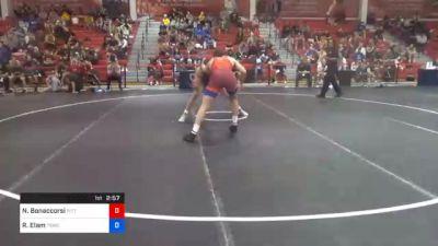 92 kg Prelims - Nino Bonaccorsi, Pittsburgh Wrestling Club vs Rocky Elam, Tiger Style Wrestling Club