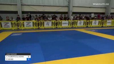 CARLOS ALBERTO OLIVEIRA vs PAULO MIYAO 2021 Pan IBJJF Jiu-Jitsu No-Gi Championship