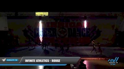 Infinite Athletics - Rouge [2021 L4.2 Senior - D2 - Small Day 1] 2021 The American Celebration DI & DII
