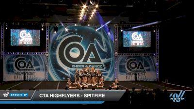 CTA Highflyers - Spitfire [2020 L2 Junior - D2 - Medium Day 1] 2020 COA: Midwest National Championship