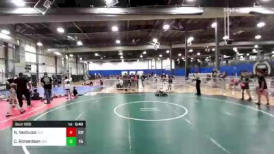 82 lbs Rr Rnd 3 - Noel Verduzco, Elite Athletic Club vs Cale Richardson, LWA Elite