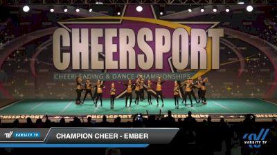 Champion Cheer - Ember [2020 Senior 1 Day 1] 2020 CHEERSPORT National Cheerleading Championship