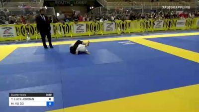 TABER LUCK JORDAN vs MITCHELL VU DO 2021 Pan Kids Jiu-Jitsu IBJJF Championship