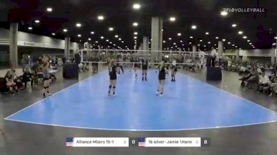 Alliance Mboro 15-1 vs 15 silver- Jamie \Hannah - 2021 SRVA Regional Championships (Courts 1-80)