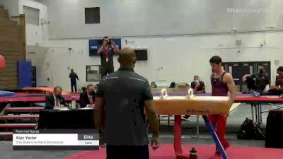 Alec Yoder - Pommel Horse, Ohio State Univ Mens Gymnastics - 2021 Men's Olympic Team Prep Camp