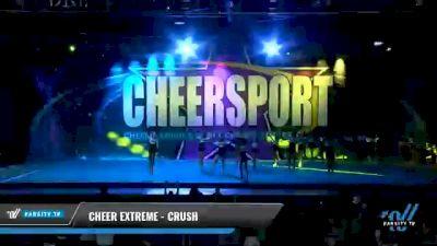 Cheer Extreme - Kernersville - Crush [2021 L6 Junior Day 1] 2021 CHEERSPORT National Cheerleading Championship
