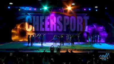 The Stingray All Stars - Lime [2021 L3 Senior - Medium Day 2] 2021 CHEERSPORT National Cheerleading Championship