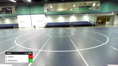 132 lbs Round Of 256 - Aidan Robichaud, RI vs Cooper Haase, FL
