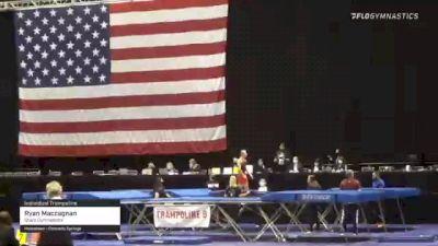Ryan Maccagnan - Individual Trampoline, Stars Gymnastics - 2021 USA Gymnastics Championships