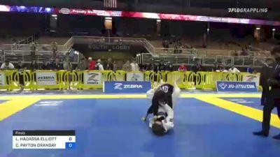 LEELA HADASSA ELLIOTT vs CAMRYN PAYTON ORANDAY 2021 Pan Jiu-Jitsu IBJJF Championship