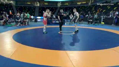 77 kg Quarterfinal - Chance Marsteller, Titan Mercury Wrestling Club (TMWC) vs Britton Holmes, Colorado