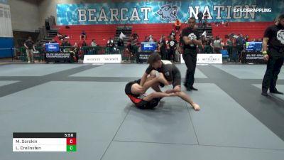 Maxim Sorokin vs Liam Crelinsten 2019 Elite Grappling Championships 3