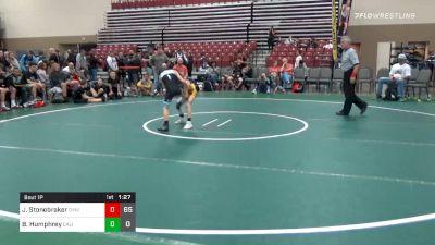 Prelims - Jack Stonebraker, Dynasty Deathrow (NJ) vs Brock Humphrey, California Gold