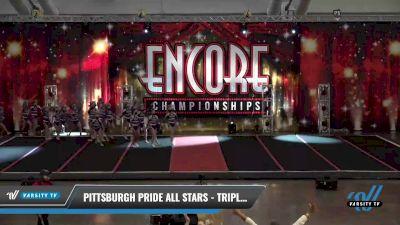 Pittsburgh Pride All Stars - Triple Threat [2021 L3 Junior Day 1] 2021 Encore Championships: Pittsburgh Area DI & DII