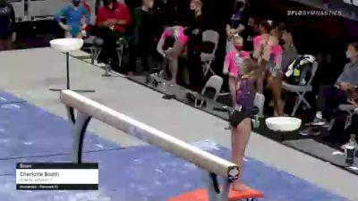 Charlotte Booth - Beam, Brandy Johnson's - 2021 US Championships