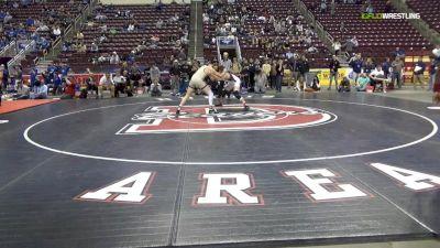 160 lbs Final - Michael Kistler, Northampton Area Hs vs Luca Frinzi, Bethlehem Catholic Hs