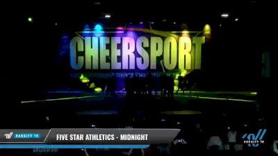 Five Star Athletics - Midnight [2021 L6 International Open Coed - NT Day 1] 2021 CHEERSPORT National Cheerleading Championship