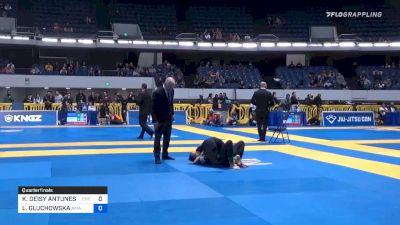 KAREN DEISY ANTUNES GIROTTO BORG vs LIWIA GLUCHOWSKA 2019 World IBJJF Jiu-Jitsu No-Gi Championship