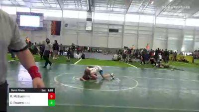 113 lbs Semifinal - Isaac Sedeno, Mat Demon WC vs Avery Fitzgerald, The Club