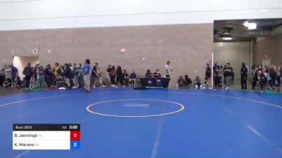 59 kg Semifinal - Michaela Beck, NY vs Phoenix Dubose, WA