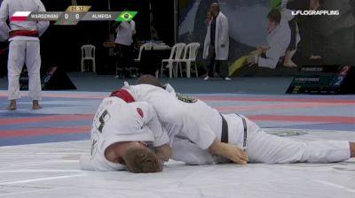 ADAM WARDZINSKI vs JEFFERSON ALMEID 2018 Abu Dhabi Grand Slam Rio De Janeiro