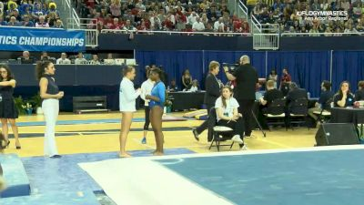 Nia Dennis - Floor, UCLA - 2019 NCAA Gymnastics Ann Arbor Regional Championship