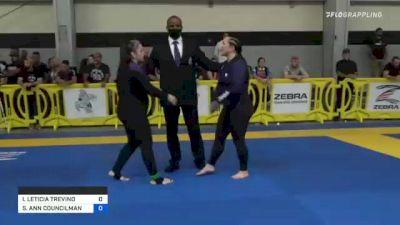 IRENE LETICIA TREVINO vs STACEY ANN COUNCILMAN 2021 Pan IBJJF Jiu-Jitsu No-Gi Championship