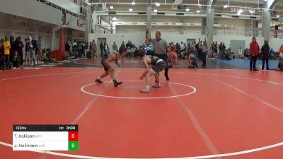 Prelims - Tyler Kellison, APP-Unattached vs Joe Heilmann, UNC Unattached