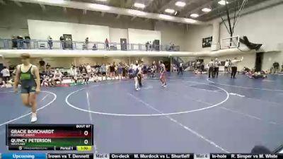135 lbs Round 2 - Gracie Borchardt, Pleasant Grove vs Quincy Peterson, Westlake