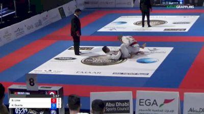Bruno Lima vs Kaynan Duarte 2018 Abu Dhabi World Professional Jiu-Jitsu Championship