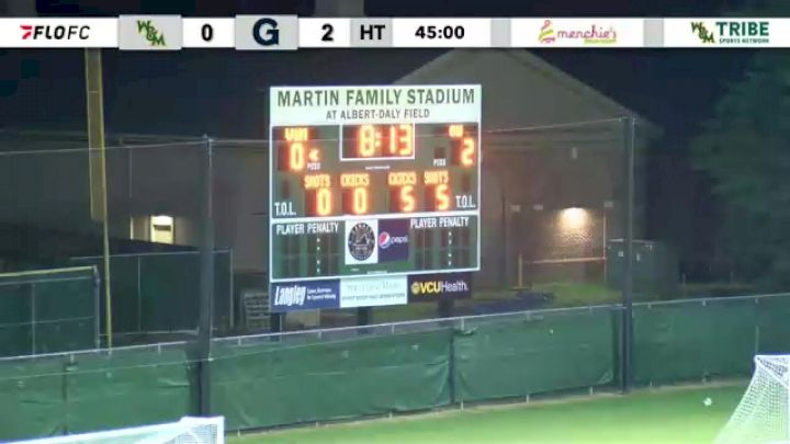 Replay: Georgetown vs William & Mary | Sep 18 @ 7 PM