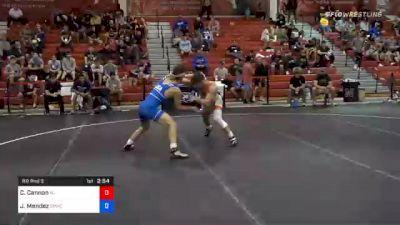 61 kg Prelims - Chris Cannon, New Jersey vs Jesse Mendez, Bulldog Premier Wrestling Club