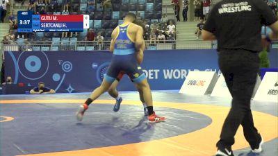 80 kg 1/8 Final - Mihai Gutu, Moldova vs Hamza Sertcanli, Sweden
