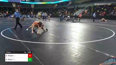 112 lbs Final - Shea Reisel, Illinois vs Kendra Ryan, Michigan Revolution