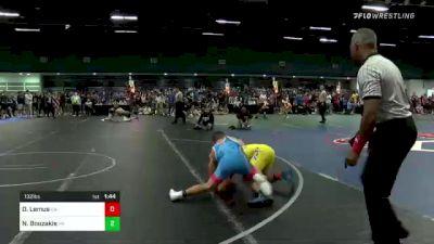 132 lbs Quarterfinal - Dario Lemus, CA vs Nic Bouzakis, PA
