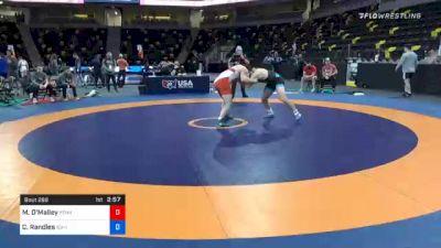 79 kg Consolation - Michael O'Malley, Pennsylvania RTC vs Casey Randles, Idaho