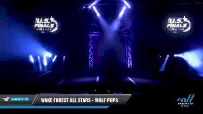 Wake Forest All Stars - Wolf Pups [2021 L2 Mini Day 1] 2021 The U.S. Finals: Myrtle Beach