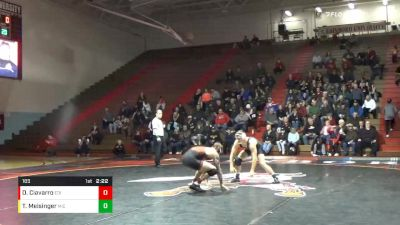 165 lbs Derek Ciavarro, Edin vs Tyler Meisinger, Michigan