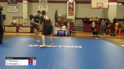 Sean Yadimarco vs Werther Marciales 1st ADCC North American Trials