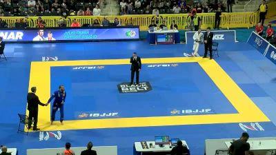 LEONARDO SAGGIORO vs MARCIO ANDRE 2019 World Jiu-Jitsu IBJJF Championship