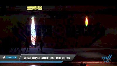 Vegas Empire Athletics - Relentless [2021 L4 Junior - D2 - Medium Day 1] 2021 The American Celebration DI & DII