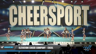 Elevation Cheer Company - Excel [2021 L2 Youth - D2 Day 1] 2021 CHEERSPORT: Charlotte Grand Championship